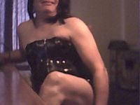 Live tranny sex show met 49-jarige shemale