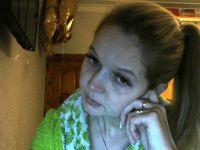 Nu live hete webcamsex met Hollandse amateur  olesyablonde?