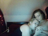 Nu live hete webcamsex met Hollandse amateur  rainbowgirls?