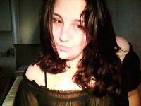 Belle femme de 34 ans se met à poils devant sa webcam