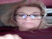 Schitterend blond vrouwtje wil cyber sex