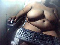 Geil zwart vrouwtje wil chatten