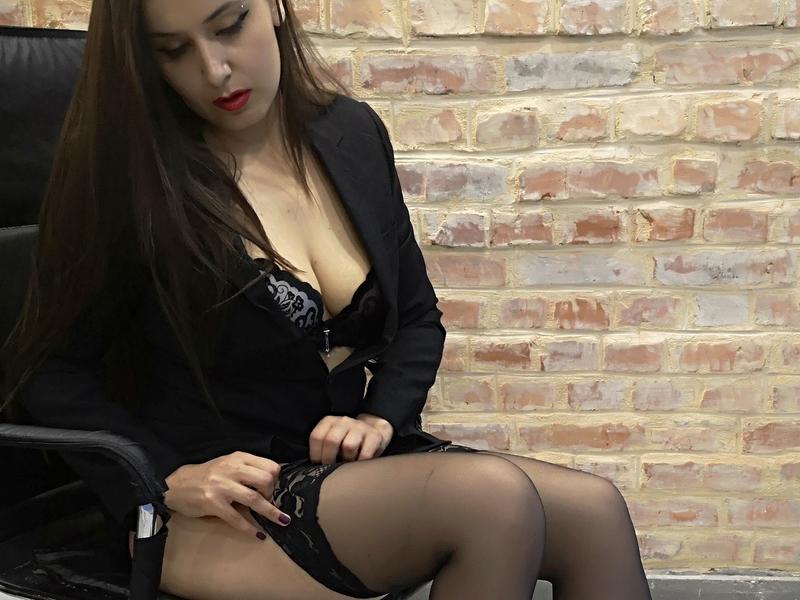 Webcamsex met Monica-pinup